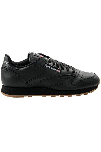 Erkek Siyah Classic Deri Günlük Spor Ayakkabı