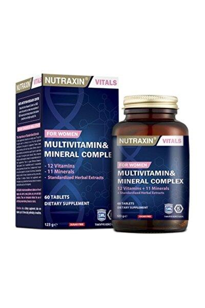 Multivitamin Mineral Complex 60 Tablet Kadınlara Özel