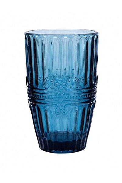 Twist Cam Meşrubat Bardağı Mavi