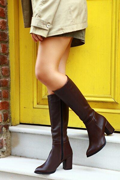 Kadın Kahverengi Çizme