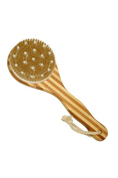 Bambu Saplı Masajlı Selülit & Banyo Sırt Fırçası 8692576001325