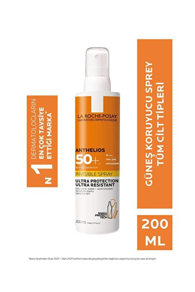 Anthelios Invisible Spray Spf 50+ 200 Ml