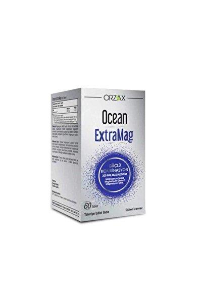 Ocean Extramag Üçlü Kombinasyon Takviye Edici Gıda 60 Tablet Skt:2023