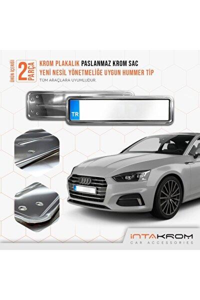 Audi Krom Plakalık - Hummer Tip 2 Adet