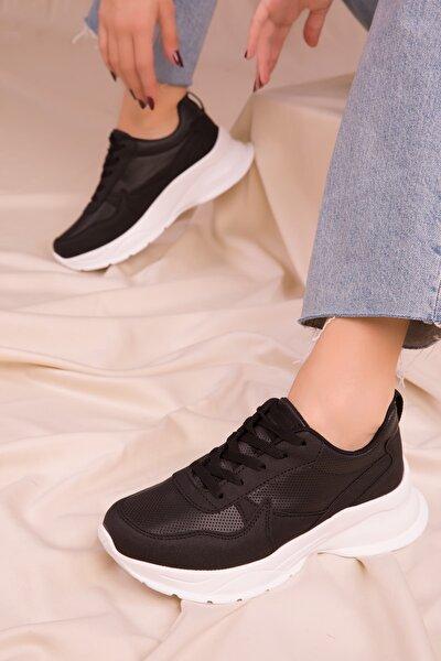 Siyah Kadın Sneaker 15564