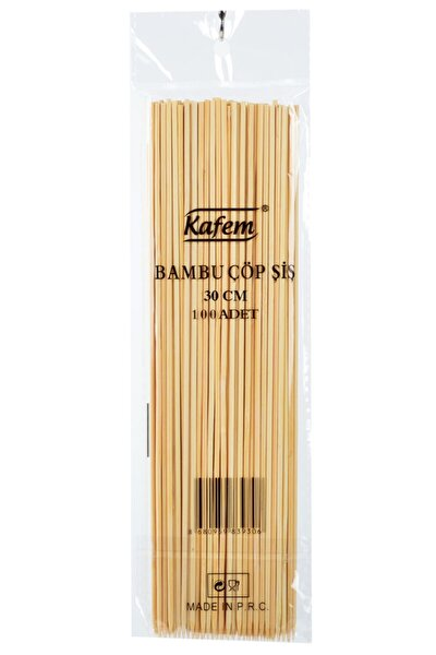 Bambu Çöp Şiş 30 Cm 50 Pk X 100 Adet -