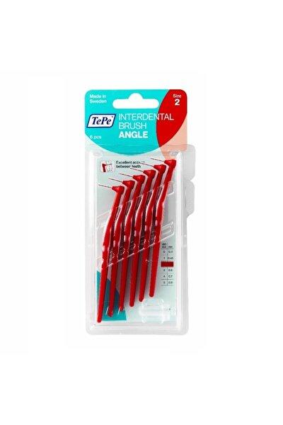 Angle Arayüz Fırçası Kırmızı 0,5 Mm 6 Adet