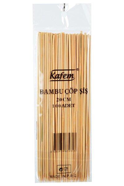 Bambu Çöp Şiş 20 Cm 50 Pk X 100 Adet -