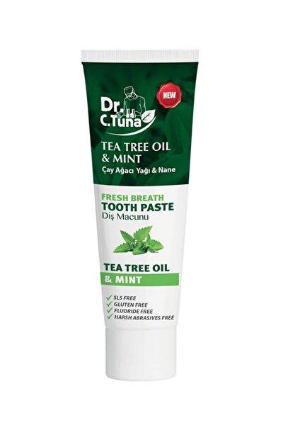 Dr.c.tuna Çay Ağacı Yağı Ve Naneli Diş Macunu 112gr.