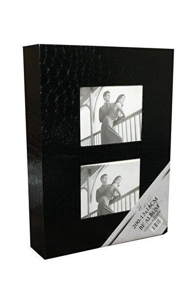 Fotoğraf Albümü Vinleks Deri 13x18 200'lük Siyah