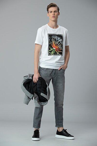 Felıta Modern Grafik T- Shirt Beyaz
