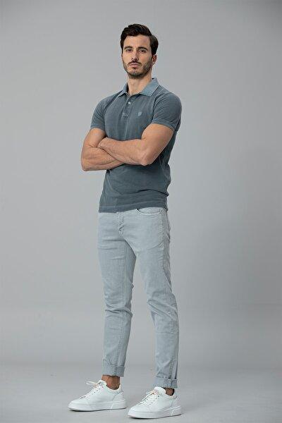 Kropi Spor 5 Cep Pantolon Slim Fit Gri