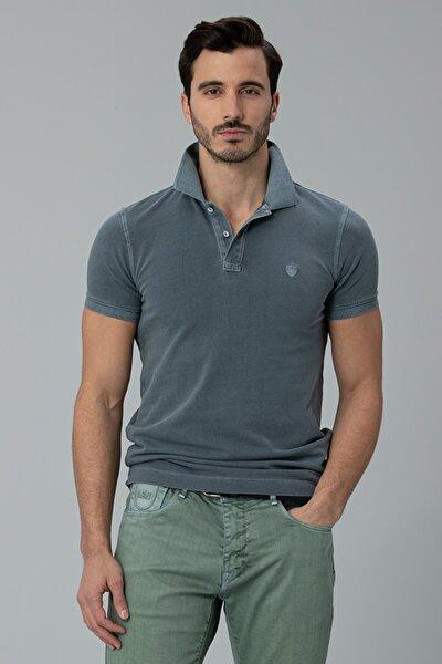 Vernon Spor Polo T- Shirt Gri