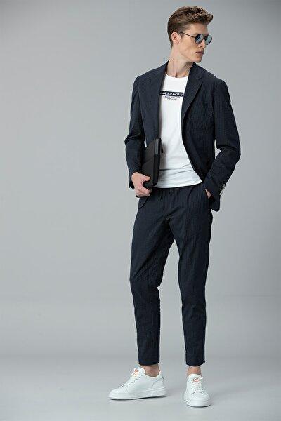 Monoba Smart Chino Pantolon Slim Fit Lacivert
