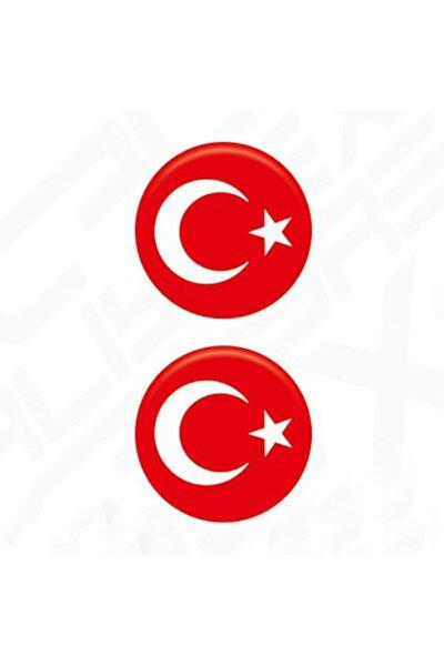 Damla Etiket Türk Bayrağı Küçük Takım