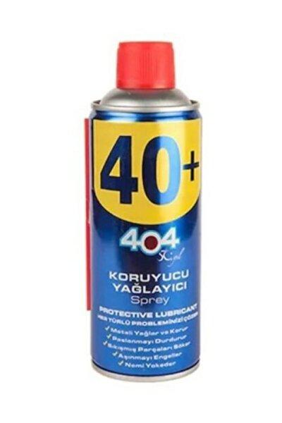 404 Koruyucu Yağlayıcı Sprey 400ml (40+)