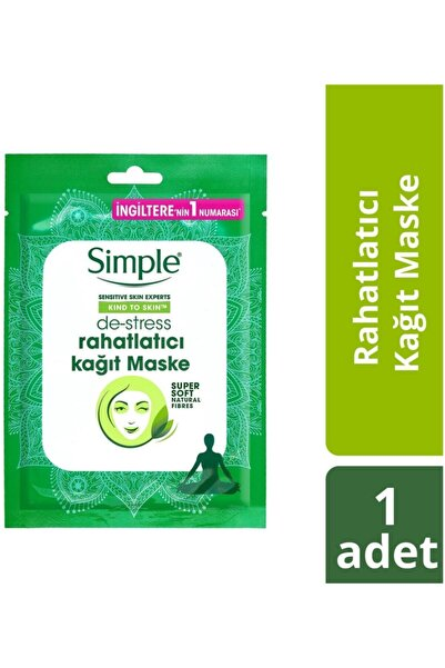 Kind To Skin De-Stress Rahatlatıcı Kağıt Maske 21 ML
