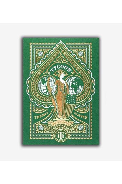 Limited Edition Green Tycoon Oyun Kağıdı Iskambil Destesi ()