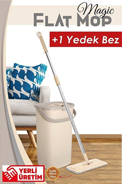 Magic Flat (tablet) Mop Set + 1 Yedek Bez