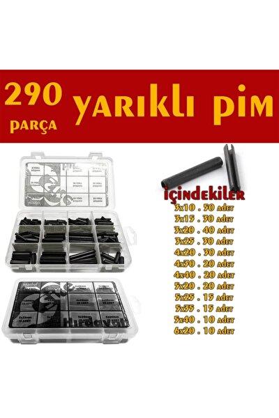290 Parça Yarıklı Pim Seti