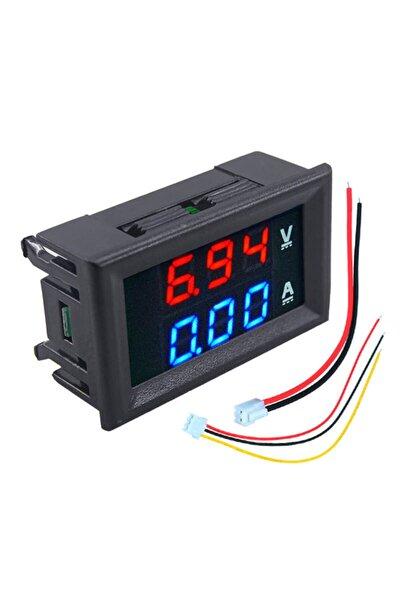 Dijital Ampermetre 0-10a Voltmetre 0-30v - Kasalı