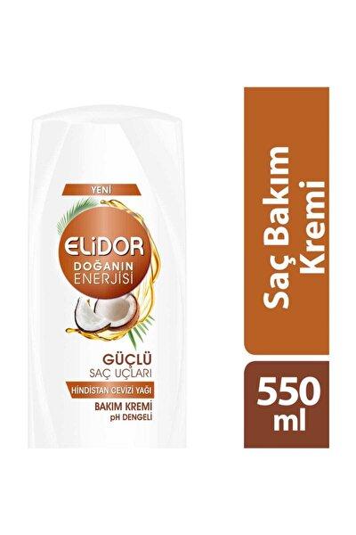 Doğanın Enerjisi Güçlü Saç Uçları Hindistan Cevizi Saç Kremi 550 ml