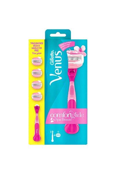 Venus Comfortglide Spa Breeze Kadın Tıraş Makinesi + 4 Yedek Bıçağı