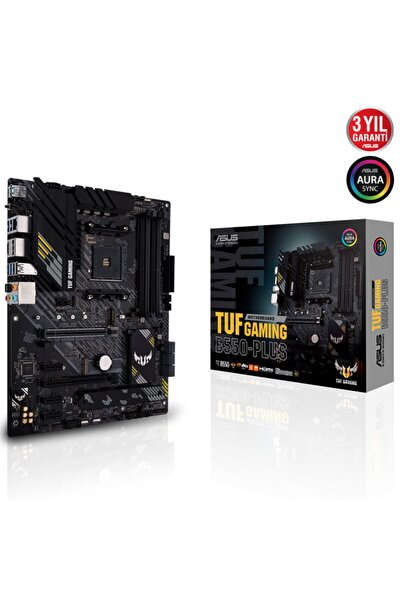 Tuf Gaming B550-plus Amd Am4 3.nesil Ddr4 Dp Hdmı Dvı Anakart