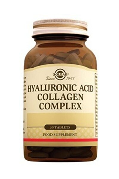 Hyaluronic Acid Collagen Complex 120mg 30tb