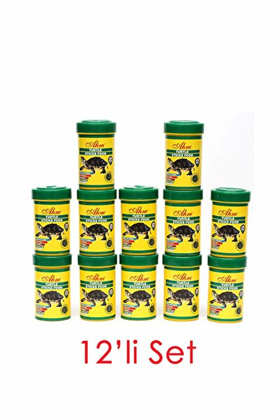 Turtle Stick Green Food Otçul 100 Ml 12li Balık Yemi 8699375330557