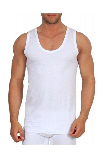 Erkek Beyaz Klasik Atlet 6'Lı