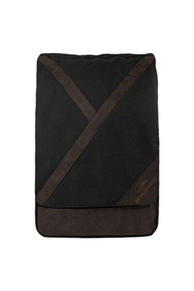 Unisex Siyah Seyahat El Ve Sırt Çantası 15.6 Inç Laptop Bölmeli Trend Kumaş