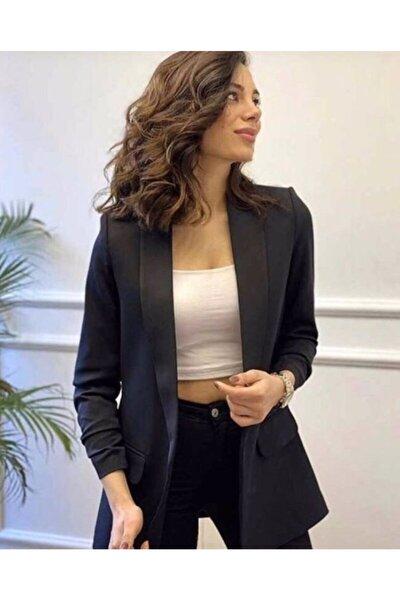 Kadın Siyah Blazer Ceket