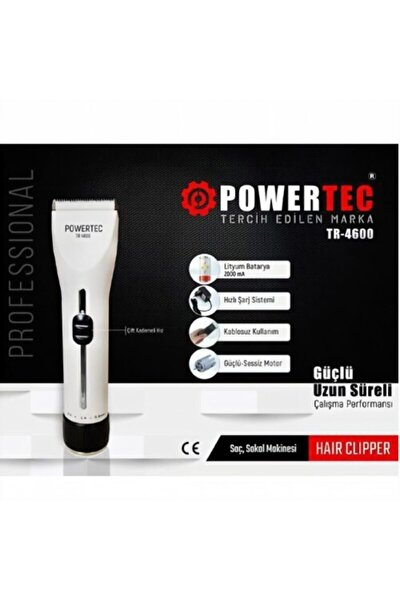 Tr-4600 Profesyonel Tıraş Makinesi + Saç Kesim Örtüsü(penuar) Hediyeli