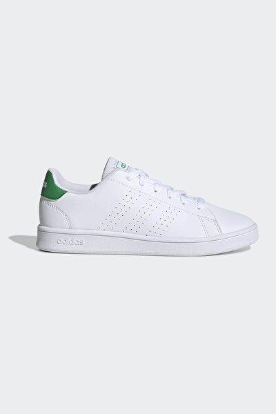 Kadın Yeşil Beyaz Ef0213 Advantage K Spor Ayakkabı