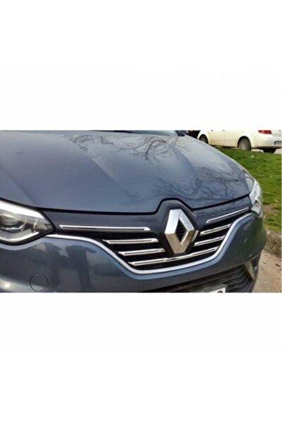 Renault Megane 4 Hb-sd Krom Ön Panjur 5 Parça 2016 Üzeri
