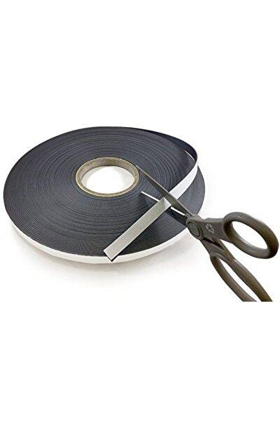 15 Metre Yapışkanlı Şerit Mıknatıs Magnet Mıknatısı - 3m Yapışkanlı - 15 Metre Uzunluk -en 12mm