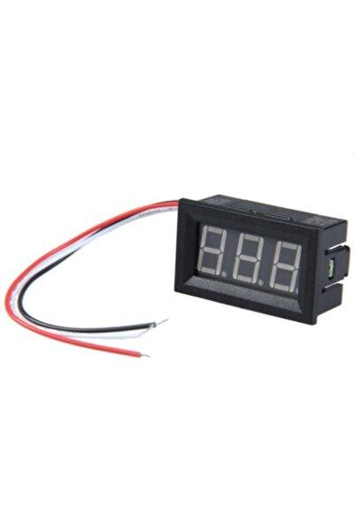Kablolu Dc Kırmızı Voltmetre Ar-261 0.56'' 0-30v 3