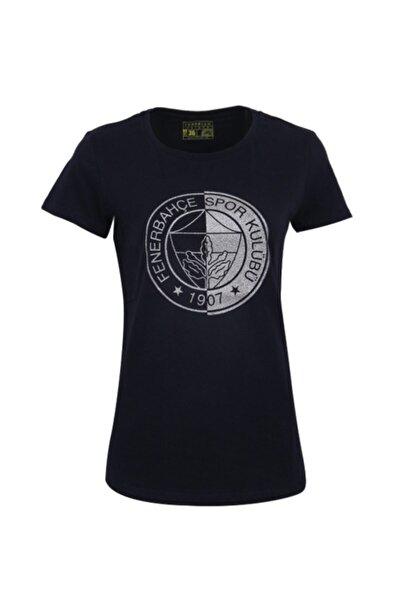 Kadın Lacivert  Spor T-Shirt