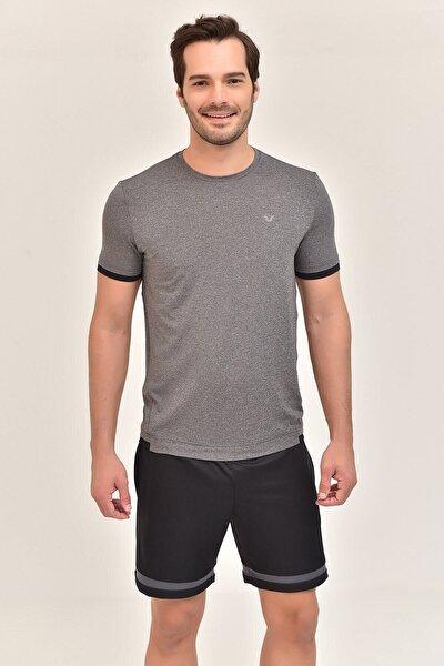 Antrasit Erkek Antrenman T-Shirt GS-8882