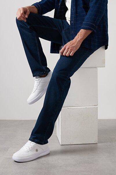 Erkek Koyu Mavi Kot Pantolon