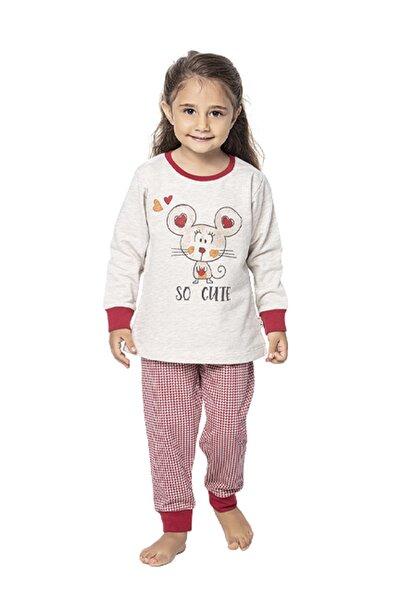 Uzun Kol Kız Çocuk Pijama Takım