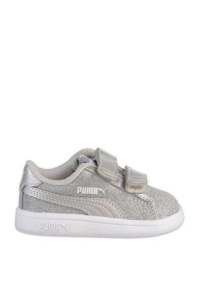 SMASH V2 GLITZ GLAM Gümüş Kız Çocuk Sneaker Ayakkabı 101119233
