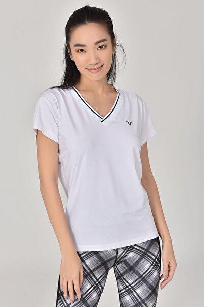 Beyaz Kadın T-Shirt GS-8029