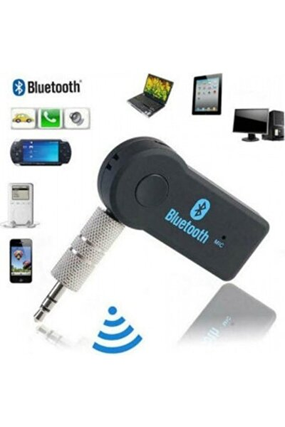 Cyber Samsung Lg Iphone Bluetooth Aux Araç Kiti An-6991