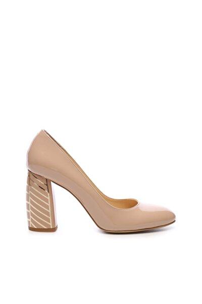 Kadın Bej Topuklu Ayakkabı 22 926