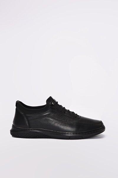 Hakiki Deri Siyah Erkek Sneaker 02AYY189610A100