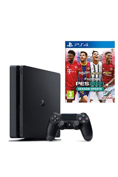 Playstation 4 Slim 500 GB + PS4 Pes 2021 (Eurasia Garantili)