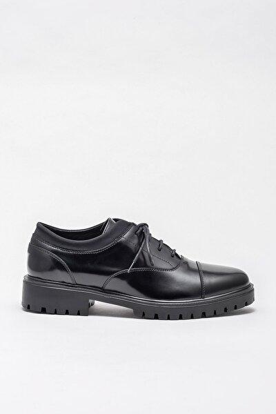 Erkek Latane Sıyah Casual Ayakkabı 20KTA884-2