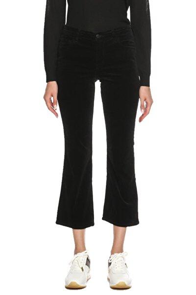 Kadın Siyah Kadife Pantolon